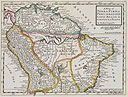 A map of Terra Firma , Peru, Amazone-land, Brasil & The North P. of La Plata